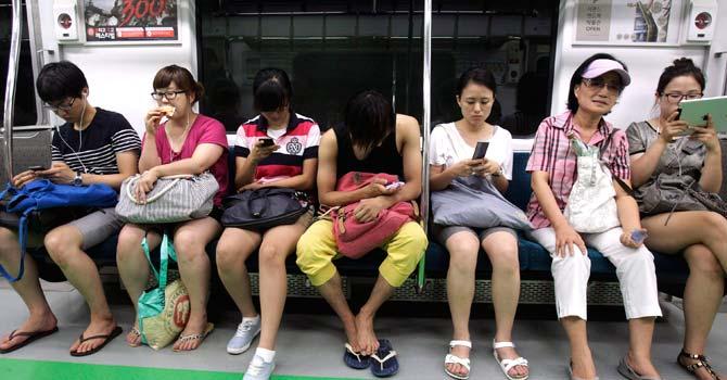 Smart-phone-users