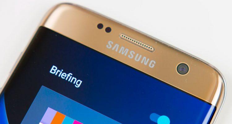 Câmera frontal do Samsung Galaxy S7