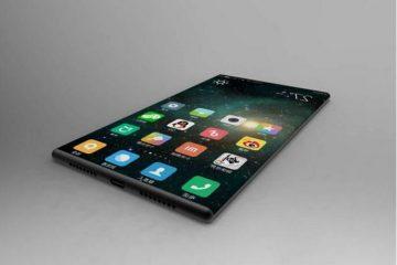 Xiaomi Mi Mix 2 renderização
