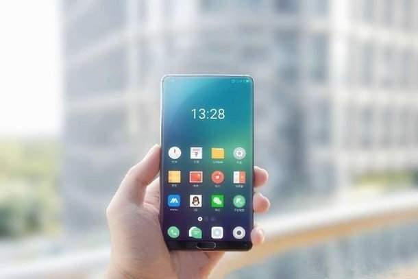 Imagem de aparelho sem bordas da Meizu