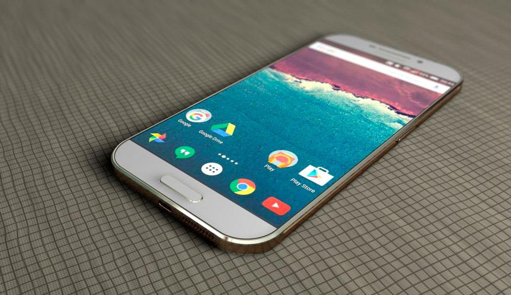 Conceito de Galaxy S8