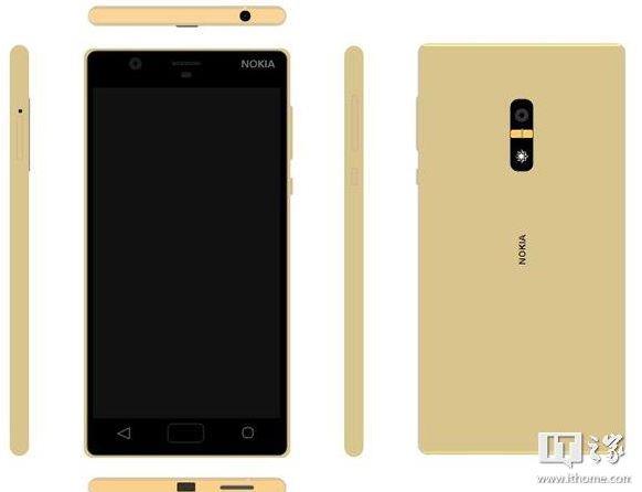 Suposta renderização do Nokia D1C