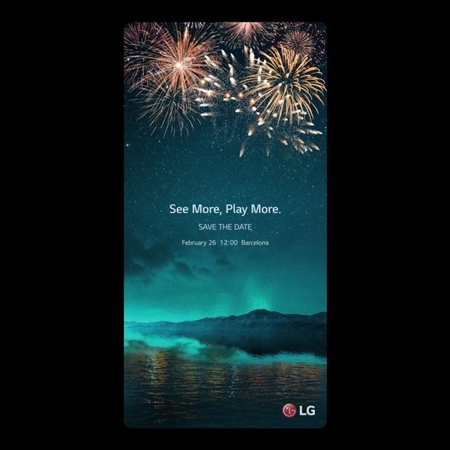 LG G6 convite