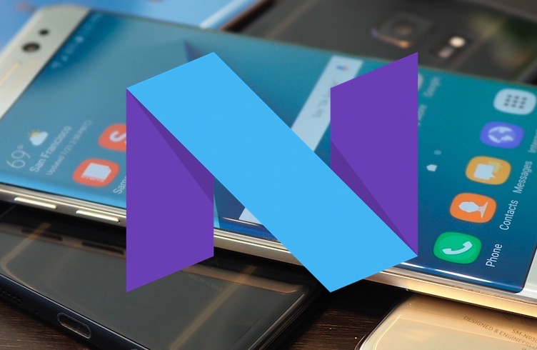 Samsung Galaxy S7 Android 7 Nougat