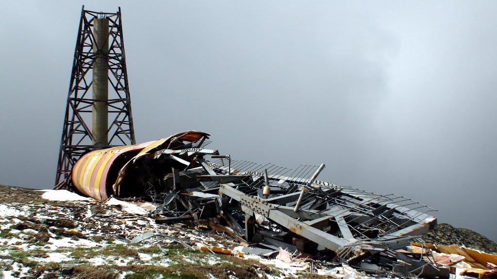 Torre de Telecomunicações quebrada