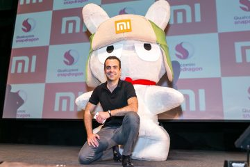 Xiaomi no palco da Mobile World Congress