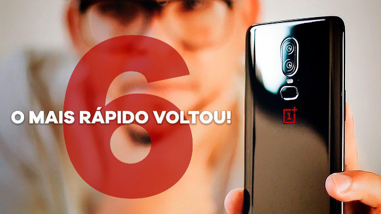 O smartphone MAIS RÁPIDO DO MUNDO está de volta! ONEPLUS 6 – Unboxing