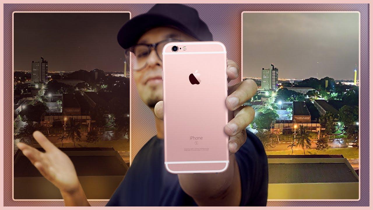 Tenha fotos MODO NOTURNO no seu iPhone antigo! O mesmo do iPhone 11