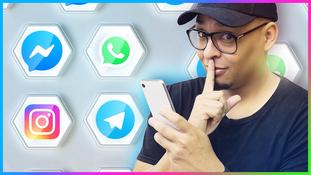 Veja suas mensagens sem que a outra pessoa saiba que viu! WhatsApp, Telegram, Instagram, messenger!