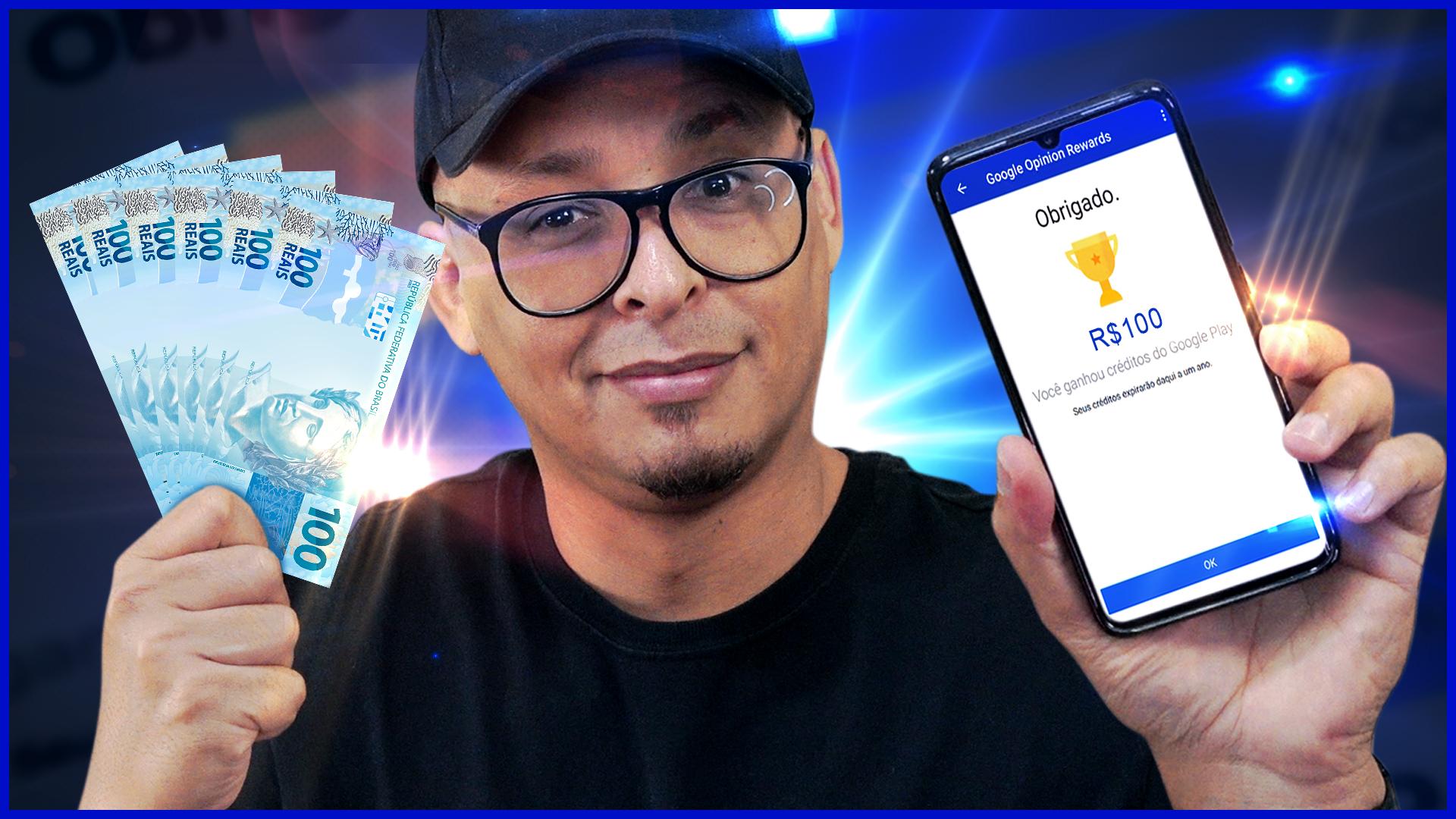 Como ganhar créditos para Google Play