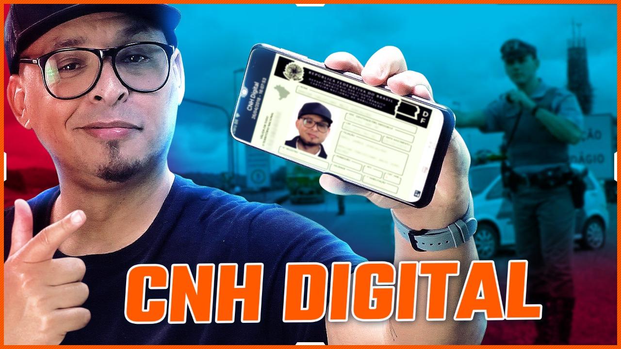 Como ter a CNH direto pelo celular