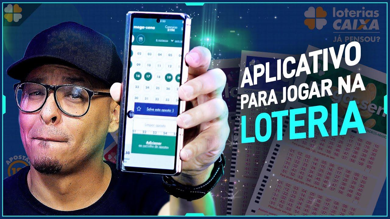 Como jogar na loteria MEGA DA VIRADA pelo celular?
